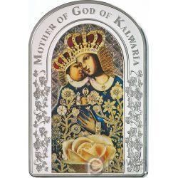 OUR LADY OF CALVARY Nuestra Senora Calvario Madonna Moneda Plata 2$ Tokelau 2017