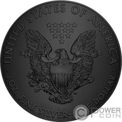 ALIEN Extraterrestre Walking Liberty 1 Oz Moneda Plata 1$ US Mint 2017