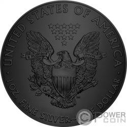 ALIEN Walking Liberty 1 Oz Серебро Монета 1$ США 2017