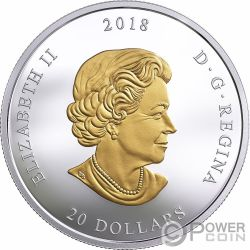 PACIFIC BELUGA Arctic From Sea To Sea To Sea 1 Oz Silver Coin 20$ Canada 2017