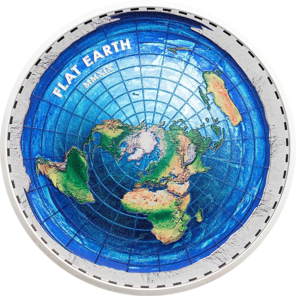 Flat Earth reverse