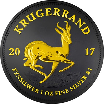 Krugerrand Black Ruthenium