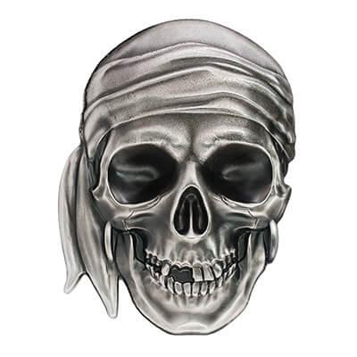 Pirate Skull Reverse