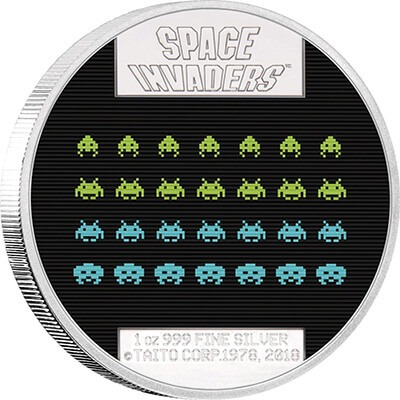 Space Invaders Reverse