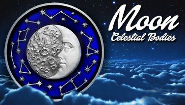 Moon Celestial Bodies