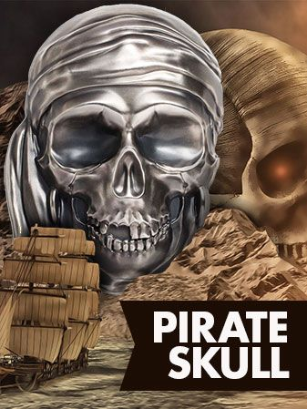 BIG PIRATE SKULL