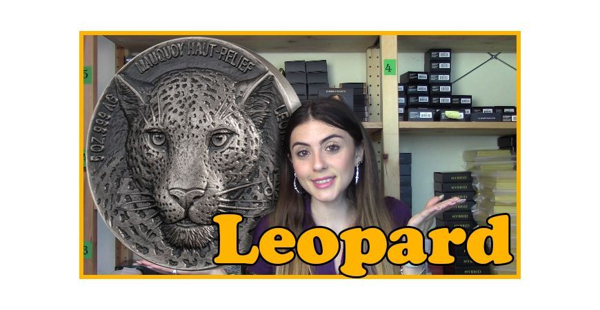 LEOPARD RECENSIONE - Big Five Mauquoy - 5 Oz Silver Coin - Ivory Coast - 2018