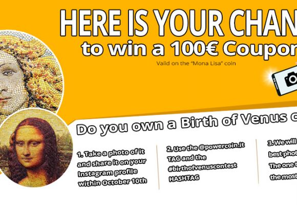POWER COIN'S FIRST CONTEST: WIN A 100€ COUPON CODE!