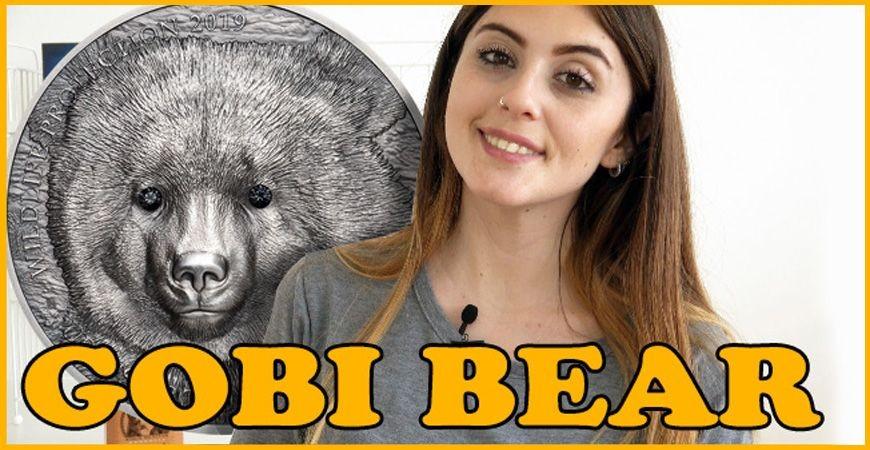 MONGOLIAN GOBI BEAR REVIEW: Wildlife Protection - 1 Oz Silver Coin - 500 Togrog - Mongolia 2019